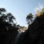 Водопад и небо