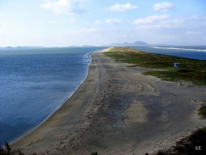 Коса Назимова, побережье Японского моря (Приморский край)